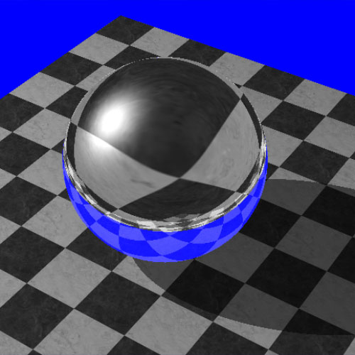 RT(HW) Sphere+Plane+Shadow+Refl 2014-07-15 13-59-43-62