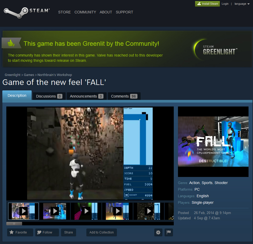 FALL_Greenlit