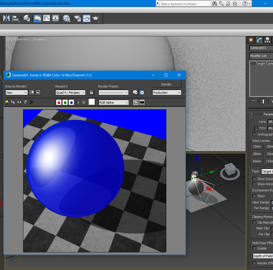 max_sphere_plane_shadow_reflection_refraction_specular_tex